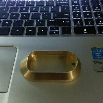 Glock Brass Magwell